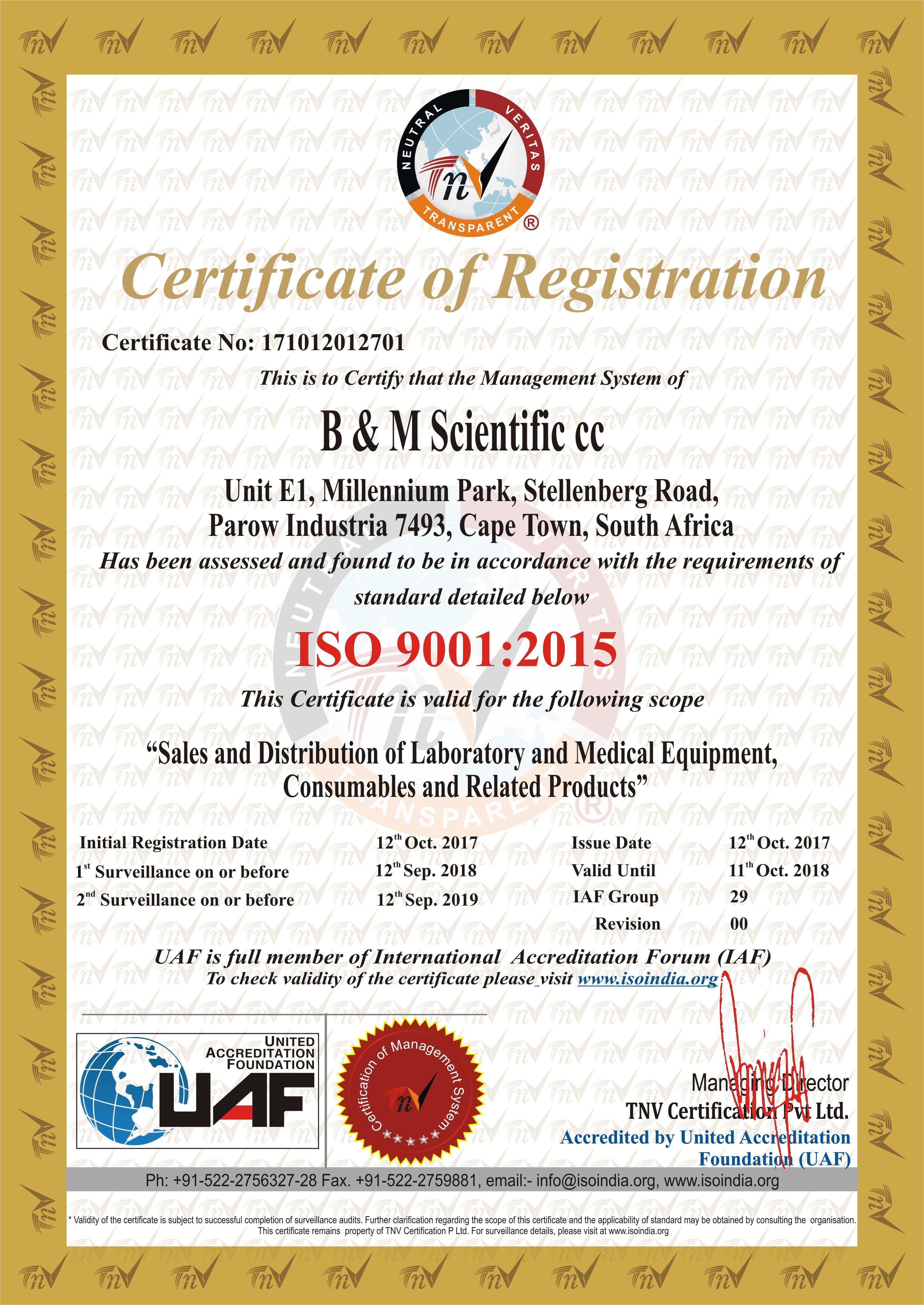 BM-SCIENTIFIC-ISO – B&M Scientific
