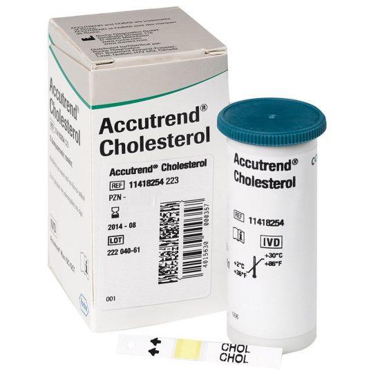 Accucheck-Cholestrol-Strips-25s